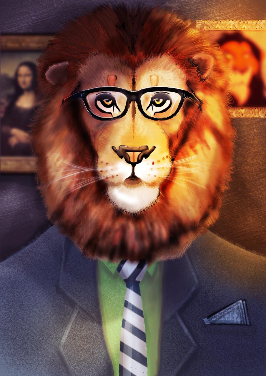 Mr. lion Illust of Jordi March2021_Creature