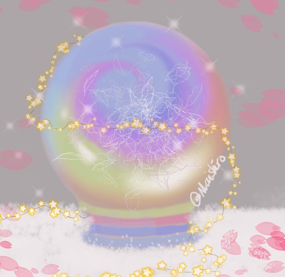 Crystal of HOPE  Illust of maishiro