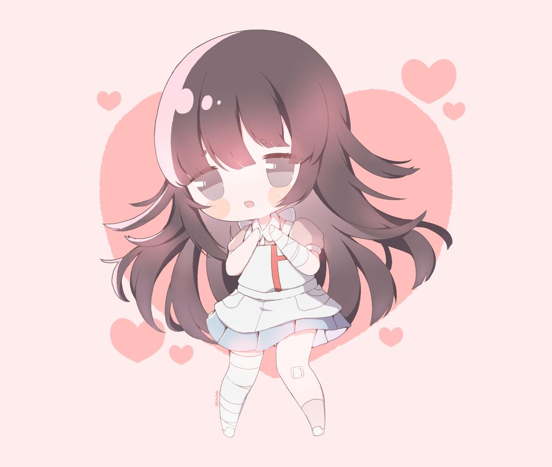 Mikan Illust of Chi medibangpaint anime videogame chibi Danganronpa