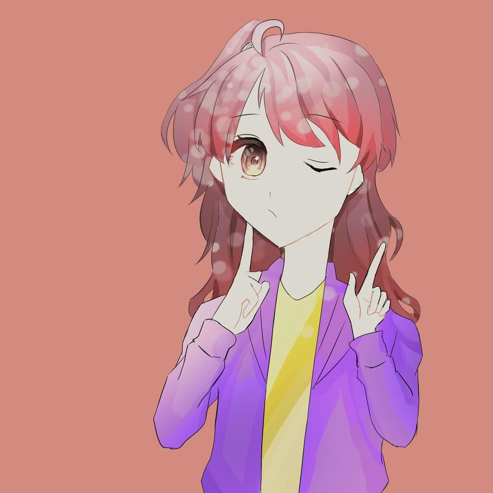 いとちゃんの代理ちゃんお借りしました Illust of おみそ#田舎同盟 illustration girl いと red CLIPSTUDIOPAINT 代理