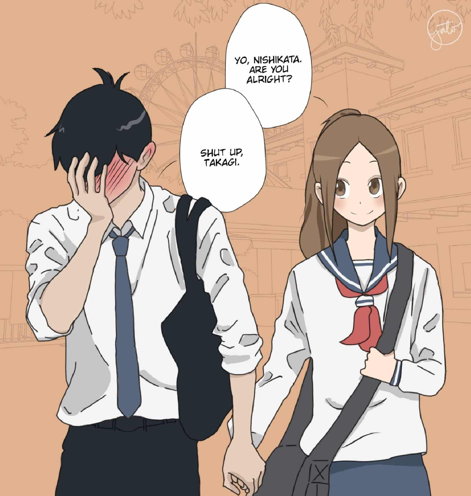 Karakai Jouzu No Takagi San First Day As Couple Jianne Tobias