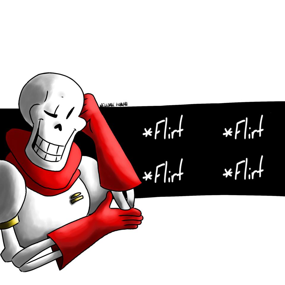 Papyrus flirt fight - TigertwoThousand | Illustrations - ART street
