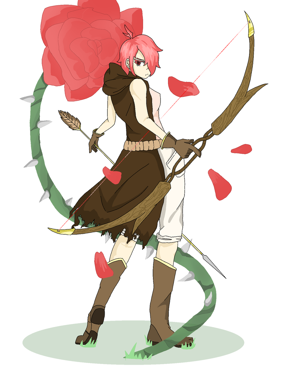 Rosary the archer