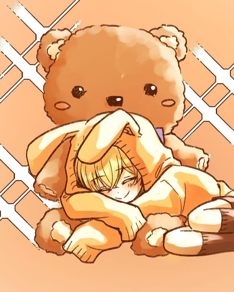 其他的熊孩子 Illust of YUKI original 乙女 oc cute illustration 電繪 funny