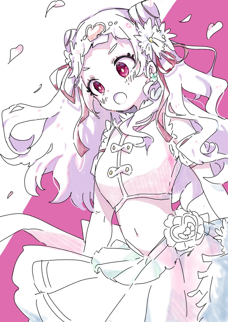 큐어 옐 Illust of Niwa medibangpaint kawaii キュアエール PrettyCure Hugtto! PreCure