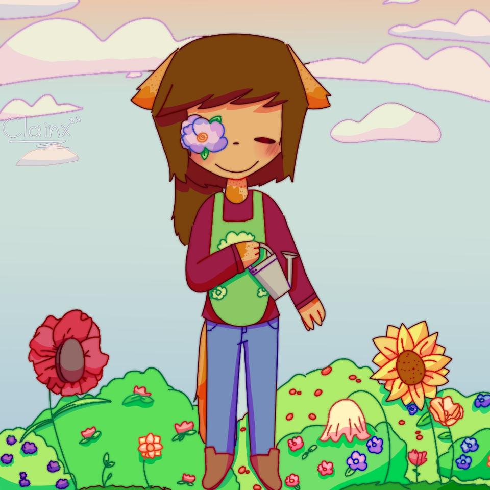 Volvi B-]// amo las flores jz 🌸🌹