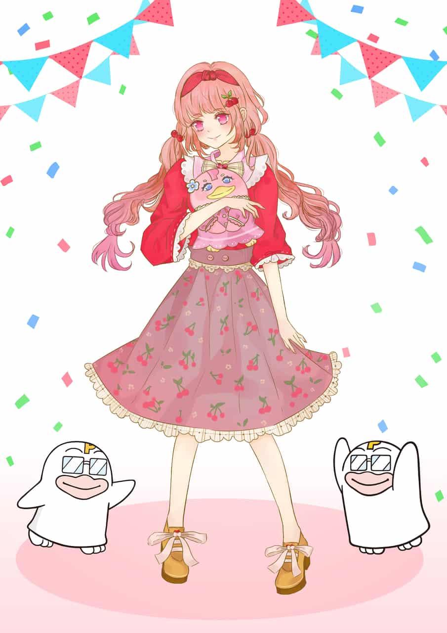 PICOQ ガールフレンド Illust of Victoria🌹 PICO公式キャラクターPICOQガールフレンド大募集!!コンテスト girl cutegirl
