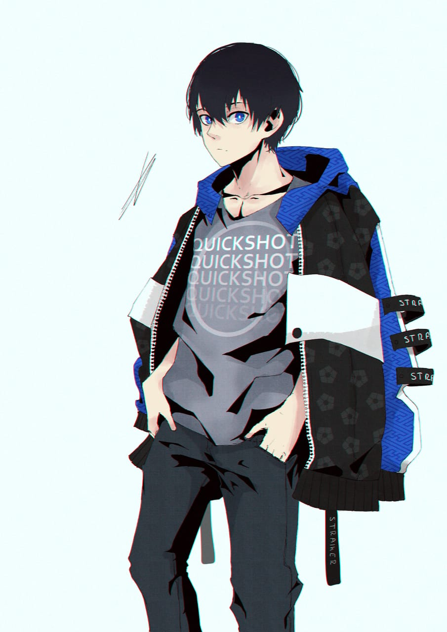 Isagi [Blue Lock] Illust of Gamousino digital anime boy manga