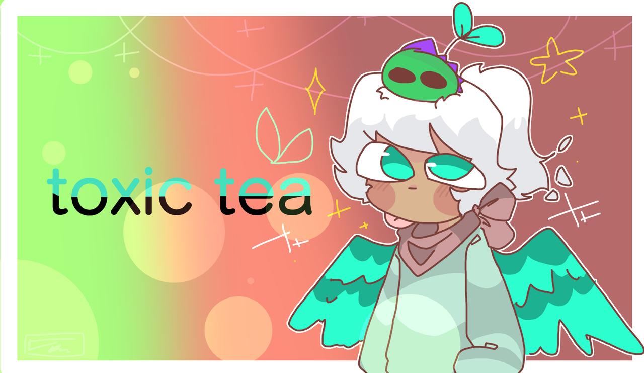 for toxic tea's contest Illust of mint mochi medibangpaint oc fanart contest Aesthetic