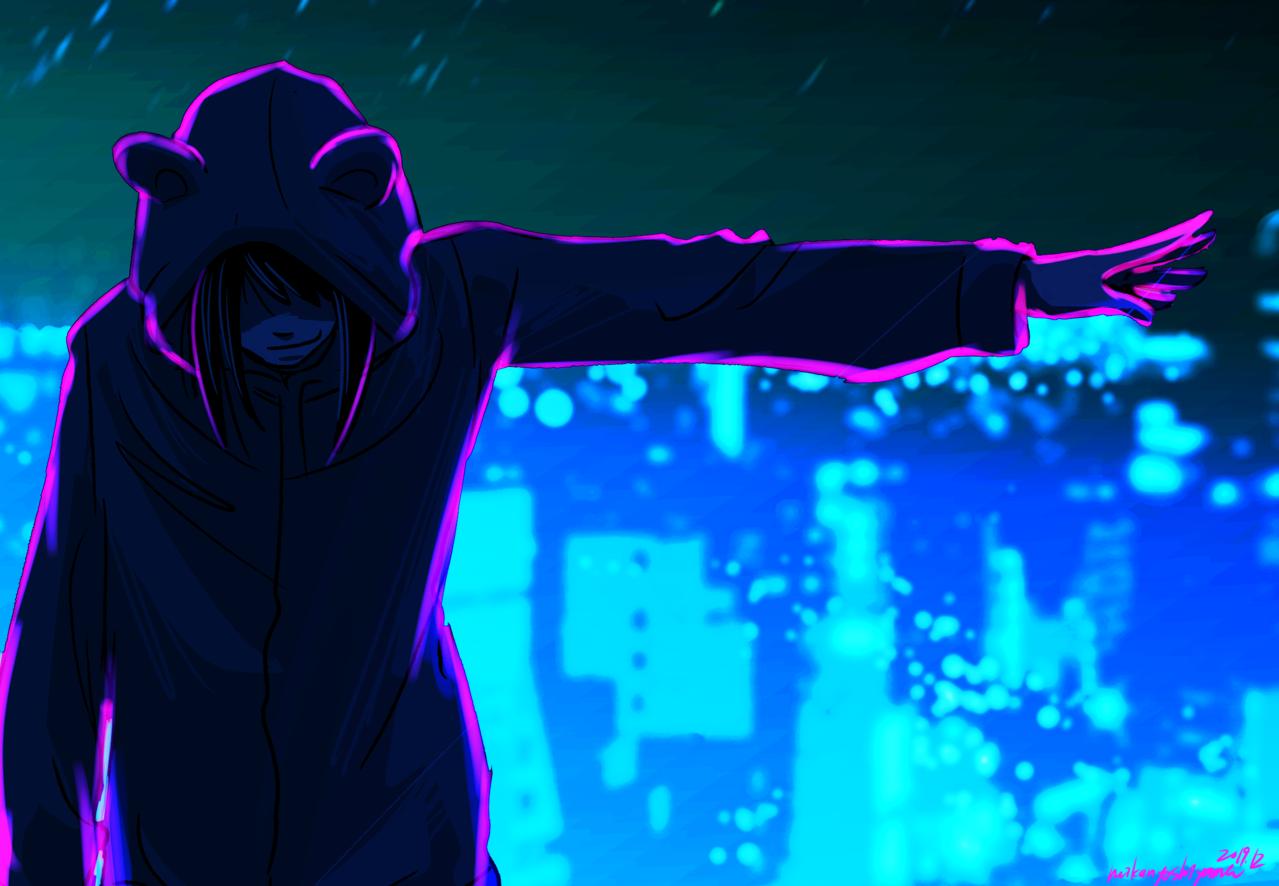 「踊れ。」 Illust of 吉山みかん medibangpaint doodle cyberpunk メディバンペイント