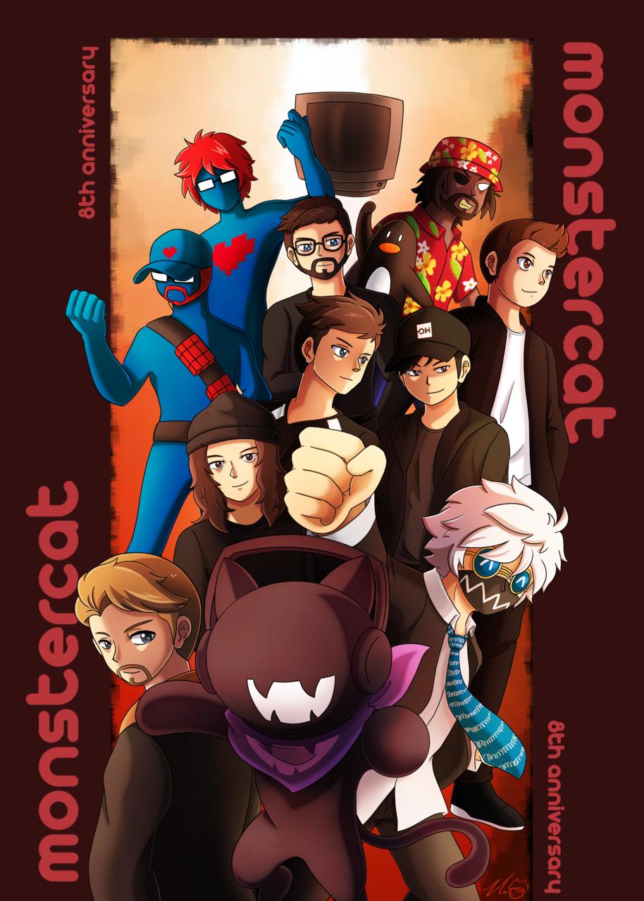 EDM 2019 Log 1 Illust of ExothermicEX digitaldrawing 2019 fanart Monstercat EDM まとめ illustration edm monstercat autodesksketchbook