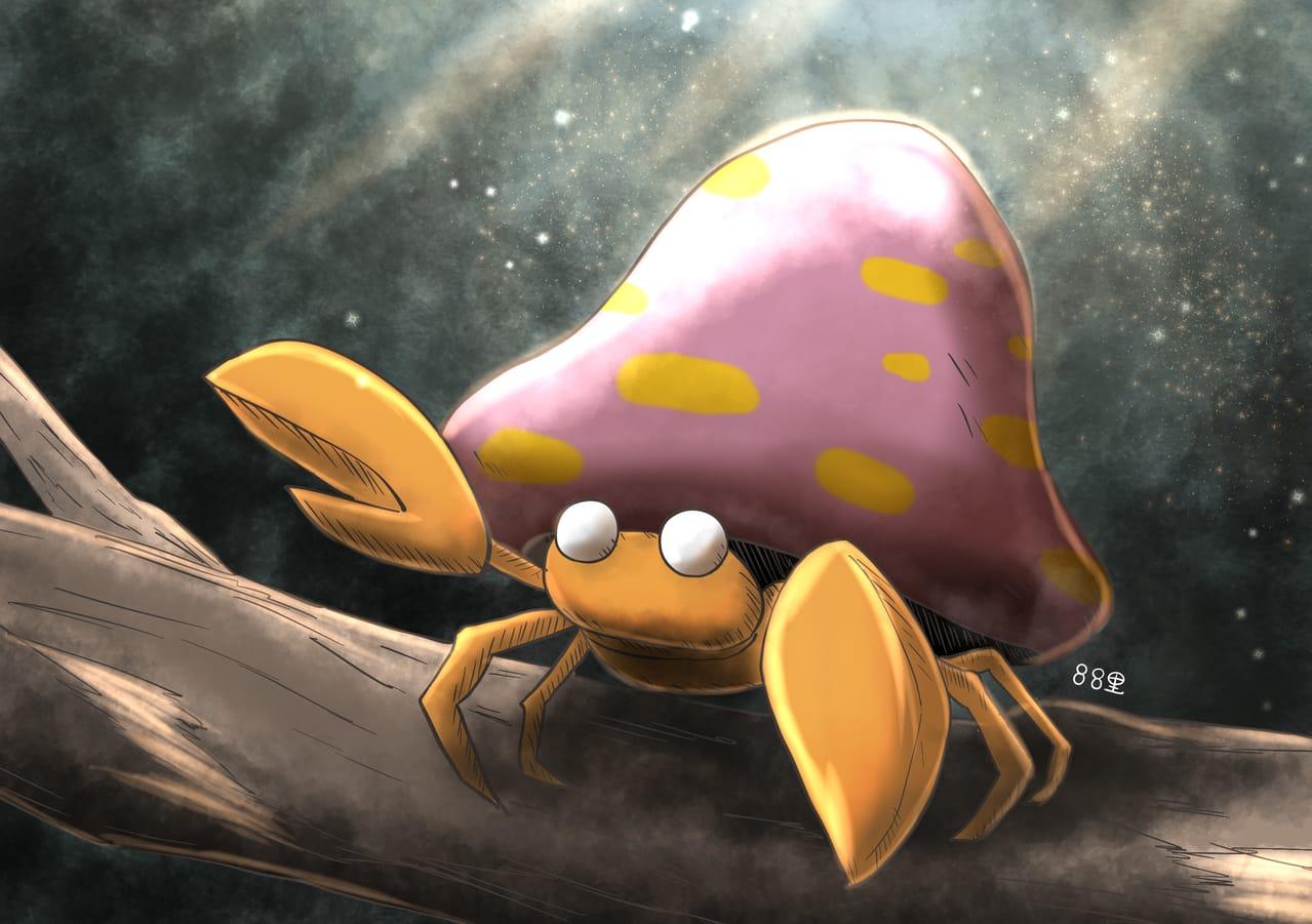 パラセクト Illust of 88里 パラセクト ワンドロ pokemon