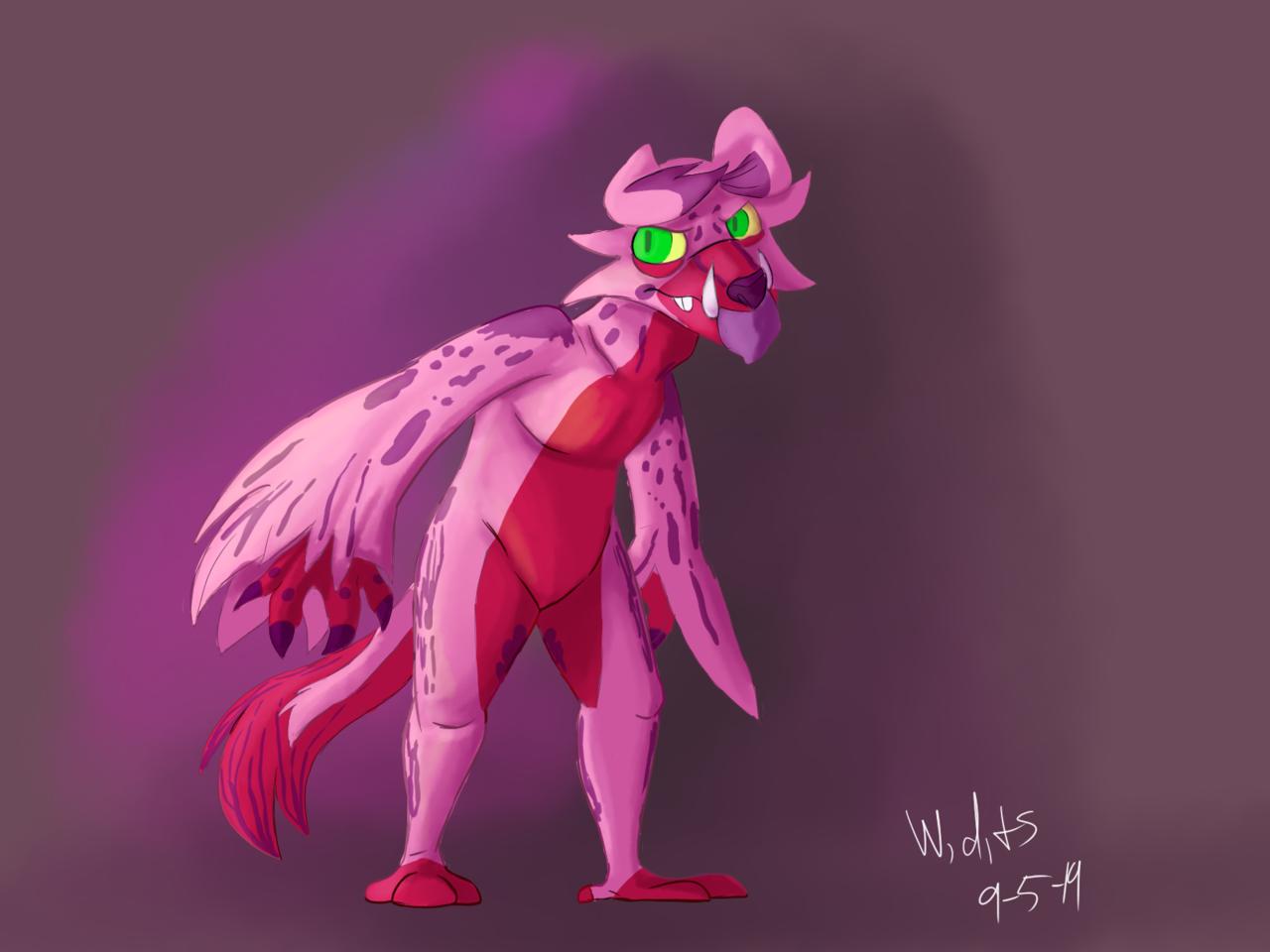 pink buddy Illust of Watch,draw,and seek medibangpaint