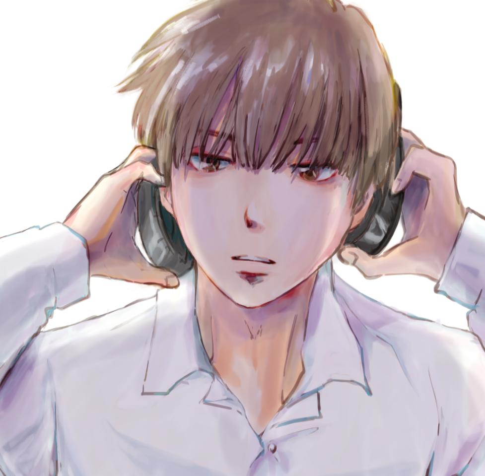 放課後の青木くん Illust of こも January2021_Contest:OC original boy
