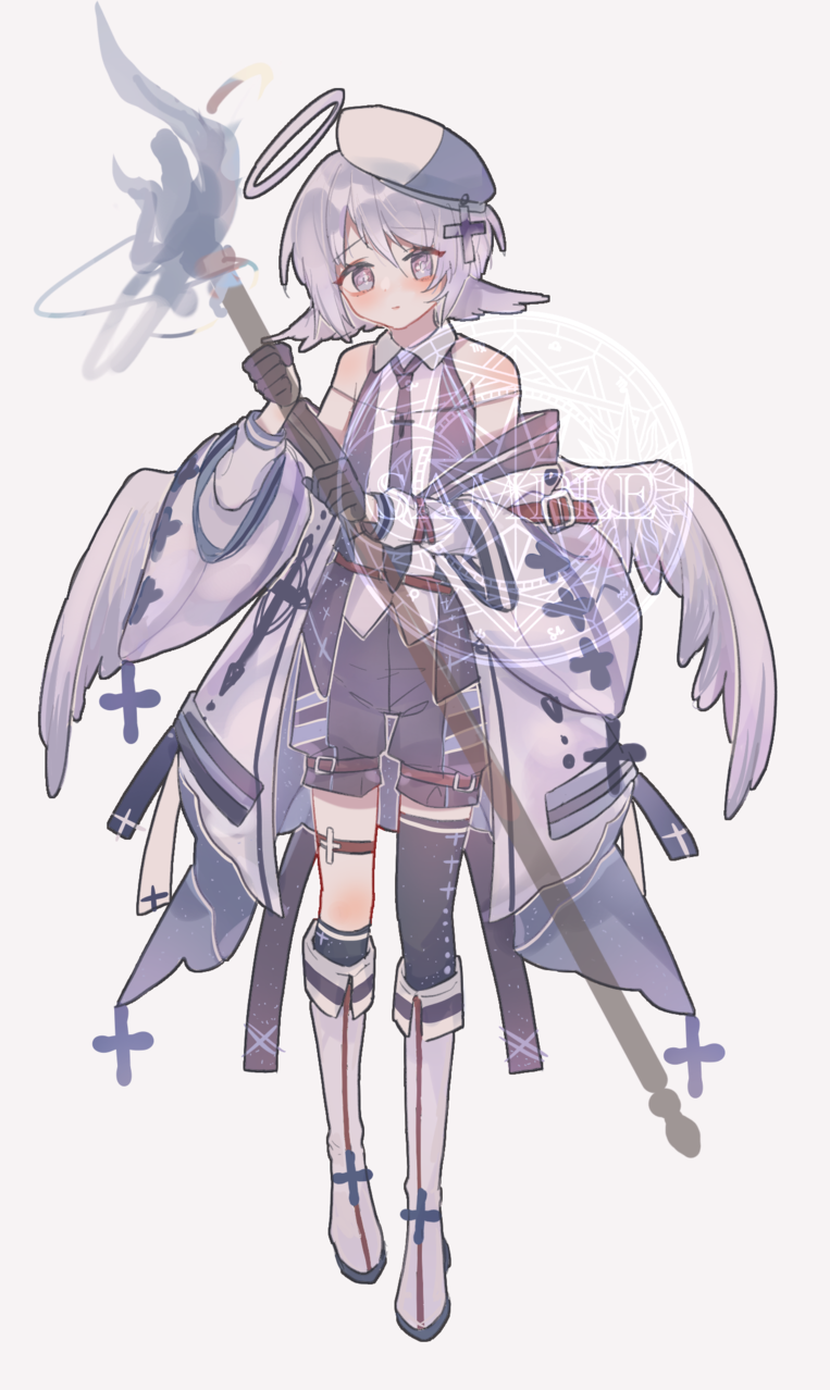 小天使♂ Illust of mieolala medibangpaint angel girl