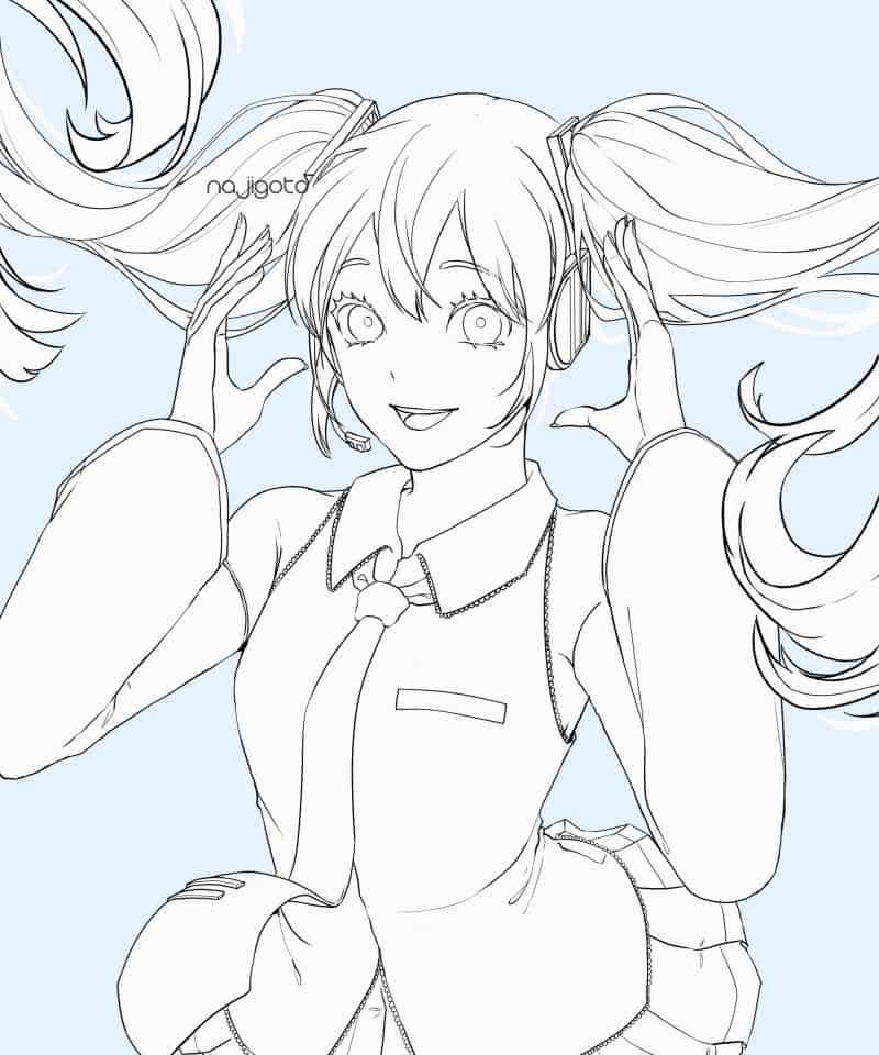 Hatsune Miku''s Balloon day!! Illust of 12314566 Post_Multiple_Images_Contest VOCALOID miku