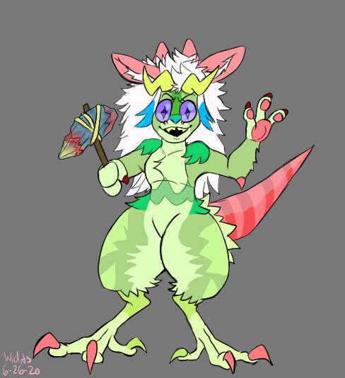some random new character Illust of Watch,draw,and seek medibangpaint