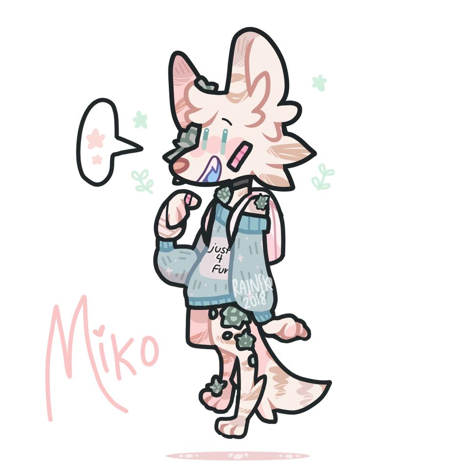 miko  Illust of raineko medibangpaint