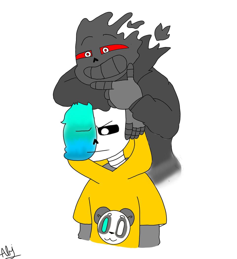 lund y su amigo