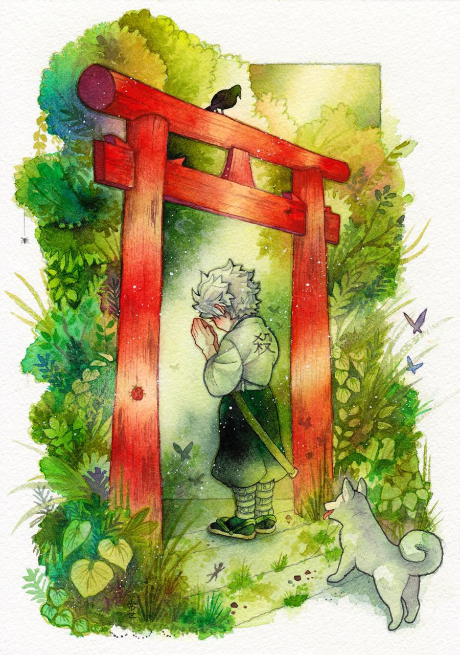 たった一つの願い Illust of 常世 DemonSlayerFanartContest KimetsunoYaiba ShinazugawaSanemi