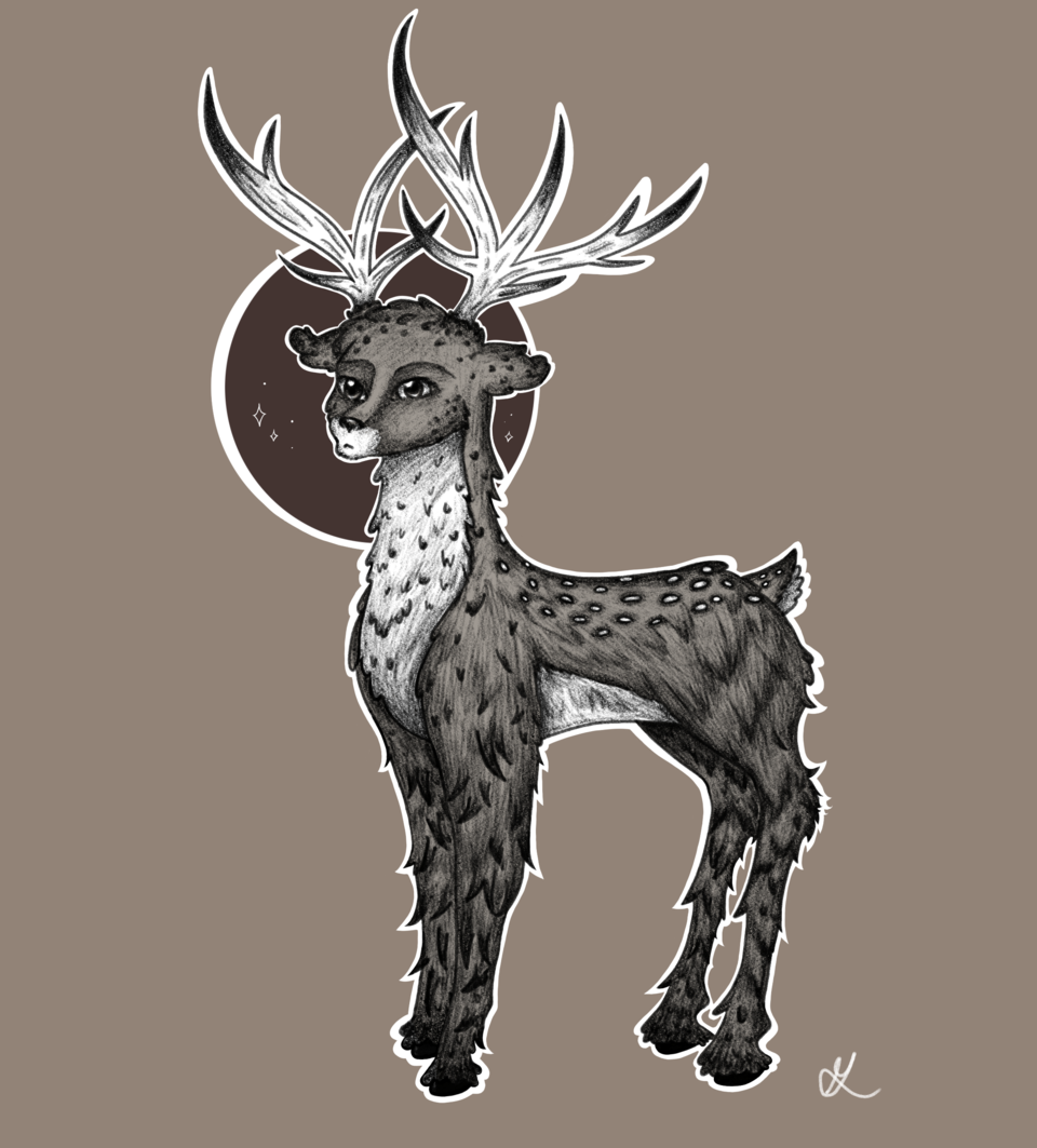 Ciervo :3 Illust of flolight2020 ciervo