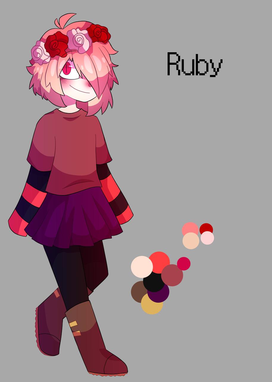 Ruby  Illust of Plasters medibangpaint Echo! oc