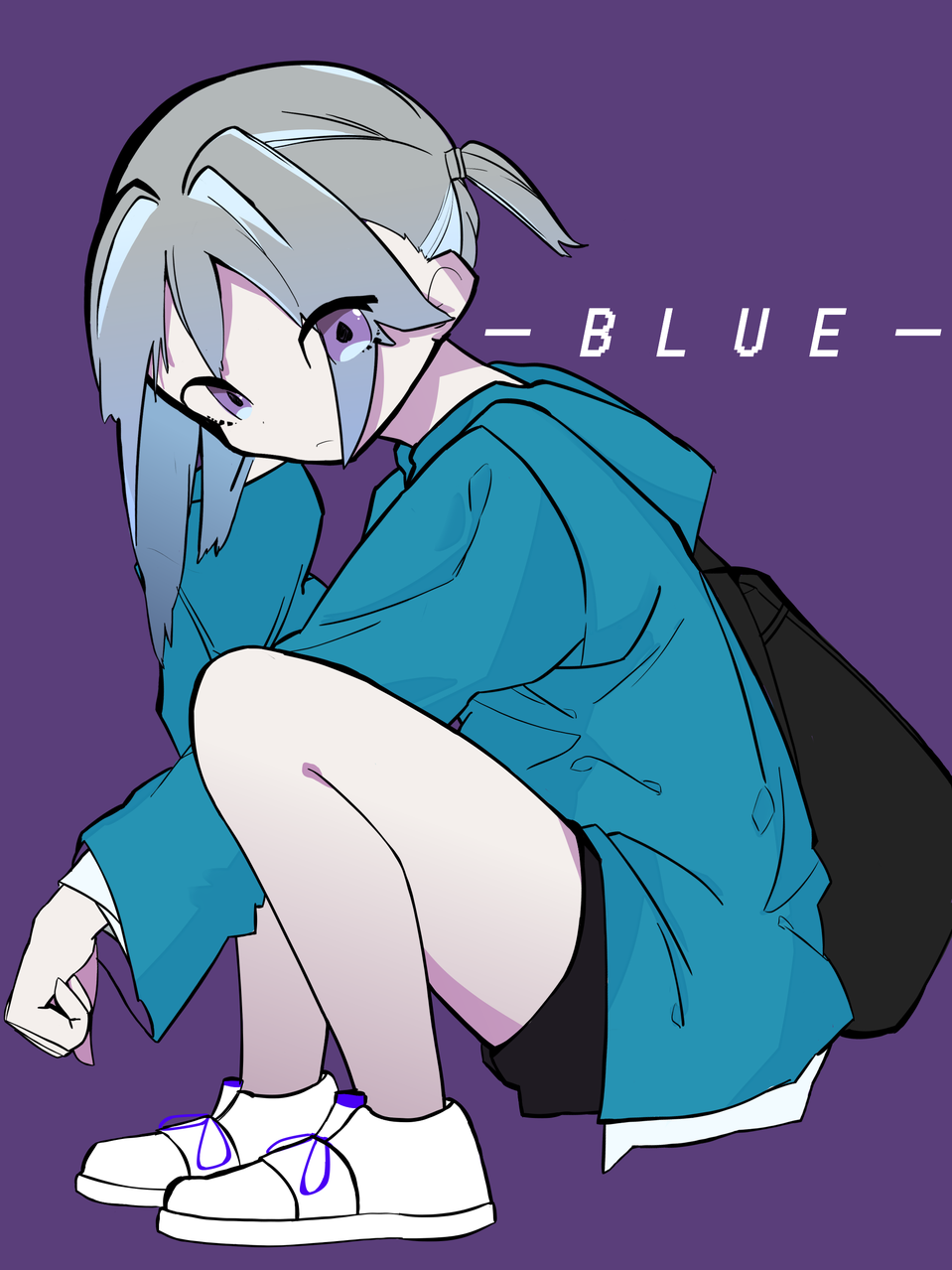 BLUE Illust of えいみん medibangpaint