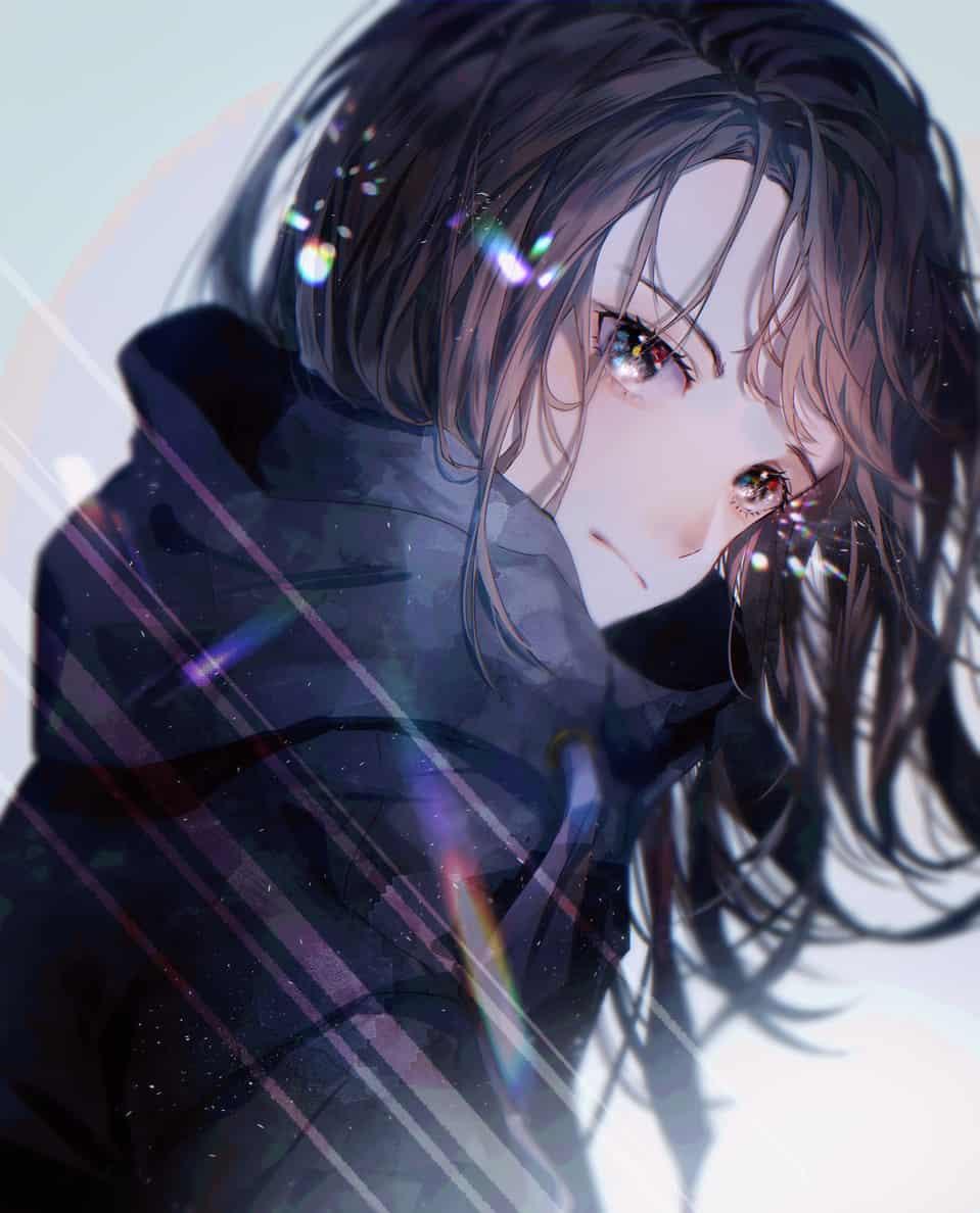 ねう Illust of からながれ eyes girl original