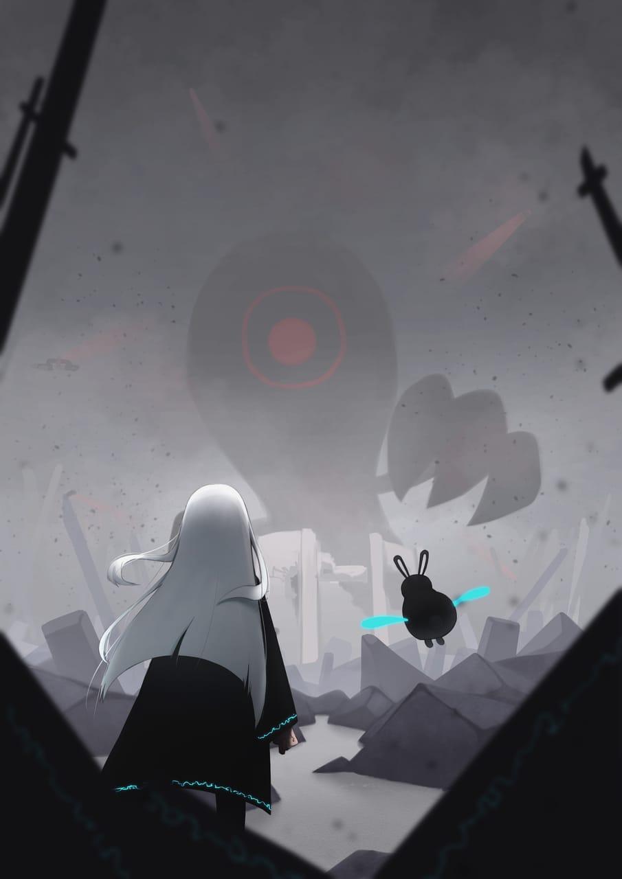 敵 Illust of なすちゃ sci-fi January2021_Contest:OC original