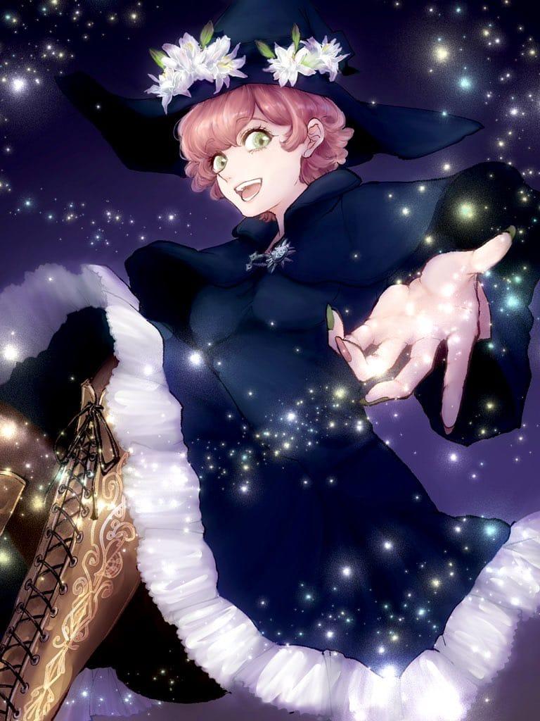 Believe!! Illust of Hansel original witch oc girl Ilustration