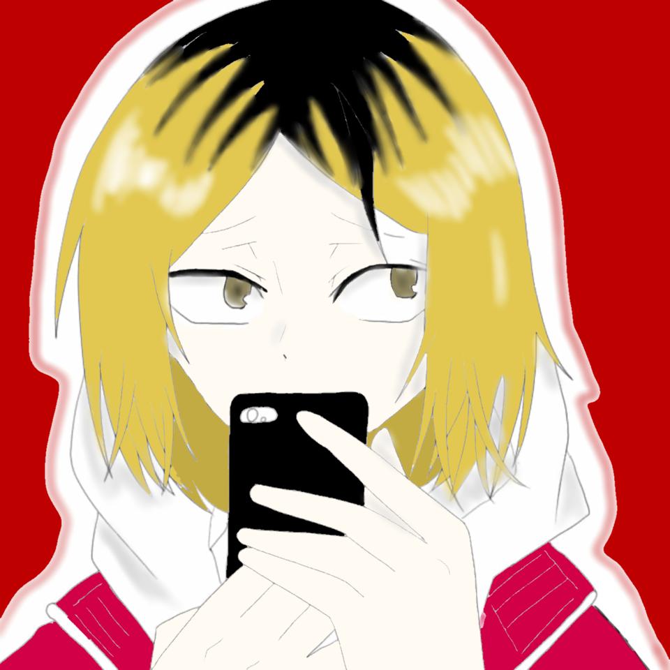 めだまやきさんの線画塗りました! Illust of ゆずりは red 研磨 めだまやき線画 Haikyu!!