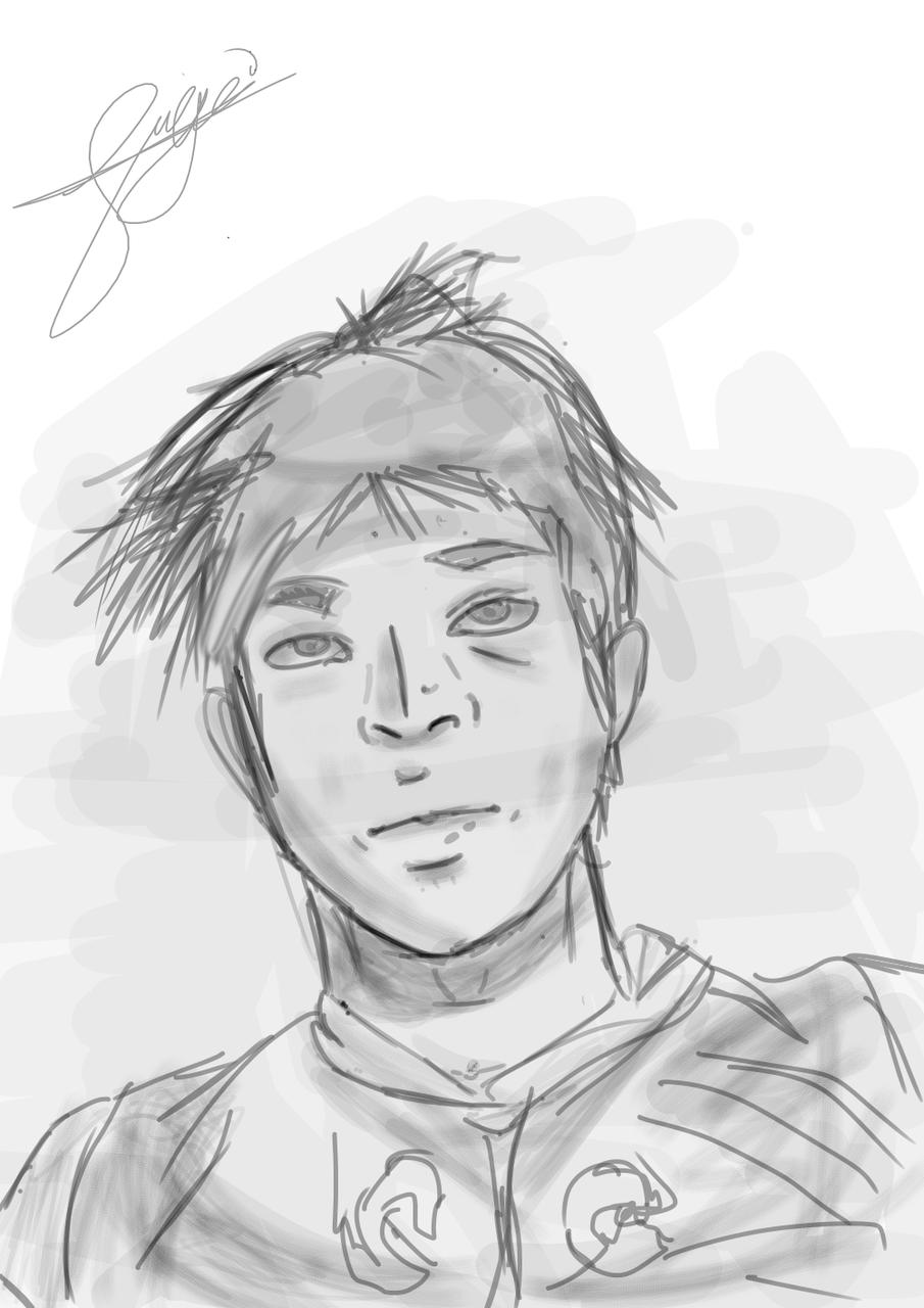 My drawing Illust of Tsugui medibangpaint