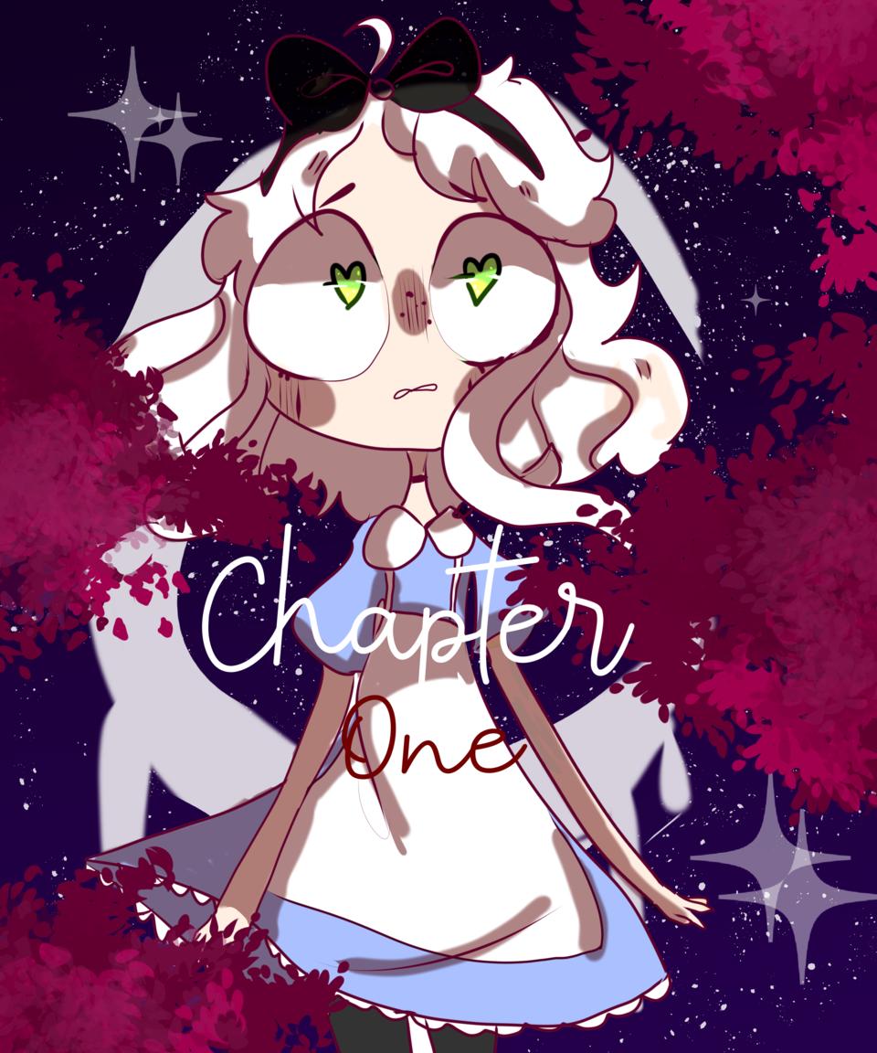 Chapter one (read desc) Illust of SR.SEROTONIN medibangpaint CLIPSTUDIOPAINT white_hair oc anime AliceinWonderland