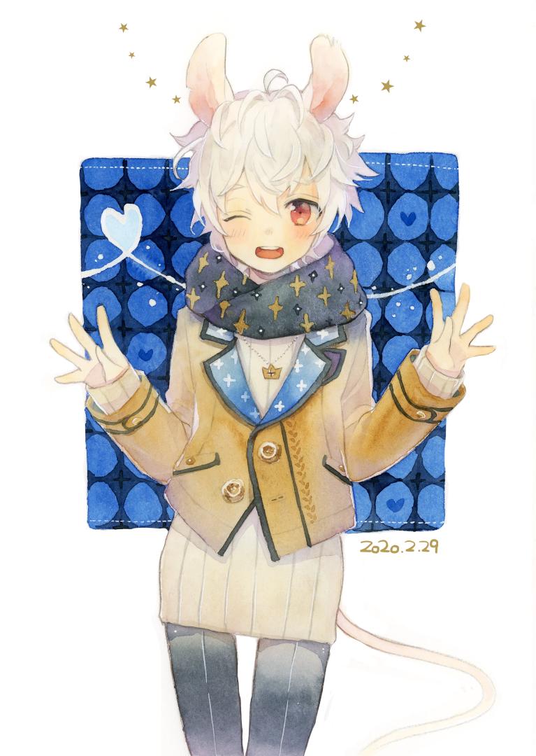 💙 Illust of とんとろ🐱tontoro boy 透明水彩 original