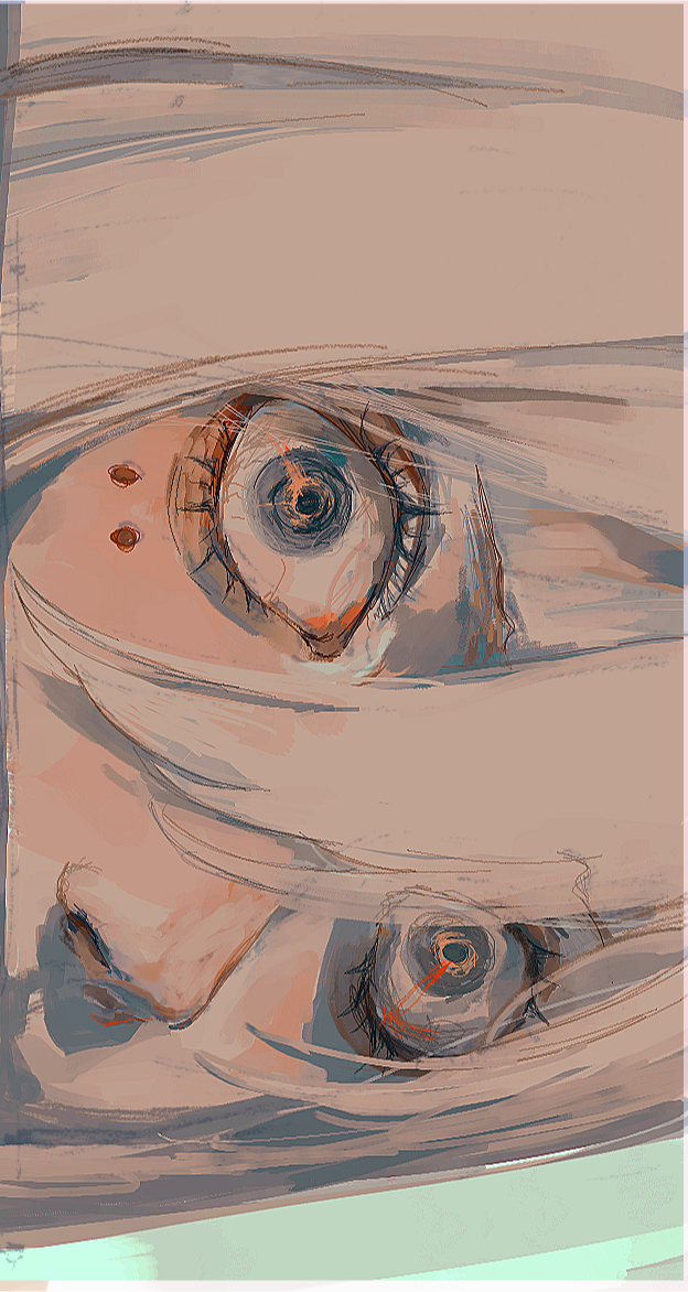 eyes  Illust of 雀 medibangpaint eyes original
