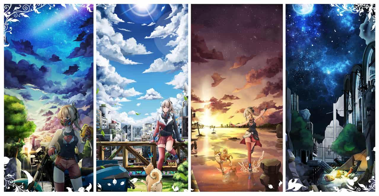 末日旅遊 Illust of 一撇 illustration scenery