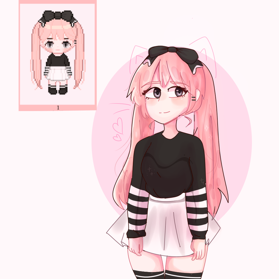 Thanks for the Adoptable >Ur baby girl owo< uwu♡