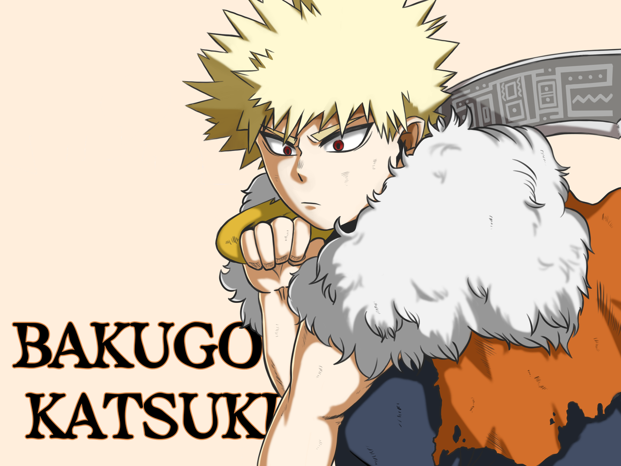 [MHA] Bakugo Katsuki Fan Art