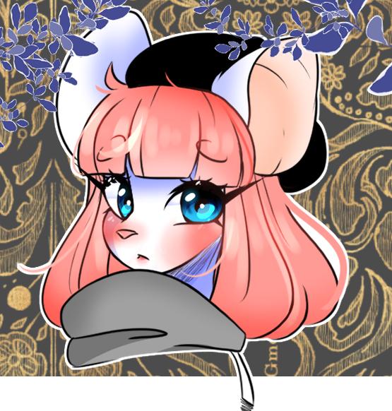 alaskha Illust of ドンナ96 furry cute 獸人 medibangpaint flower