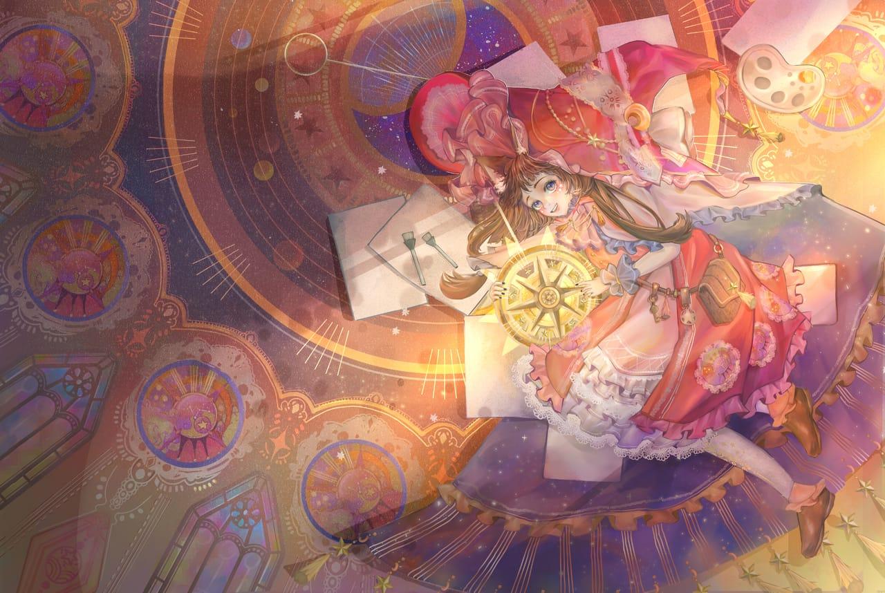 創造 Illust of ARRRRRRY ART_street_Illustration_Book_Contest February2021_Fantasy drawing Drawings painting digitalpainting original illustration witch paint oc doodle