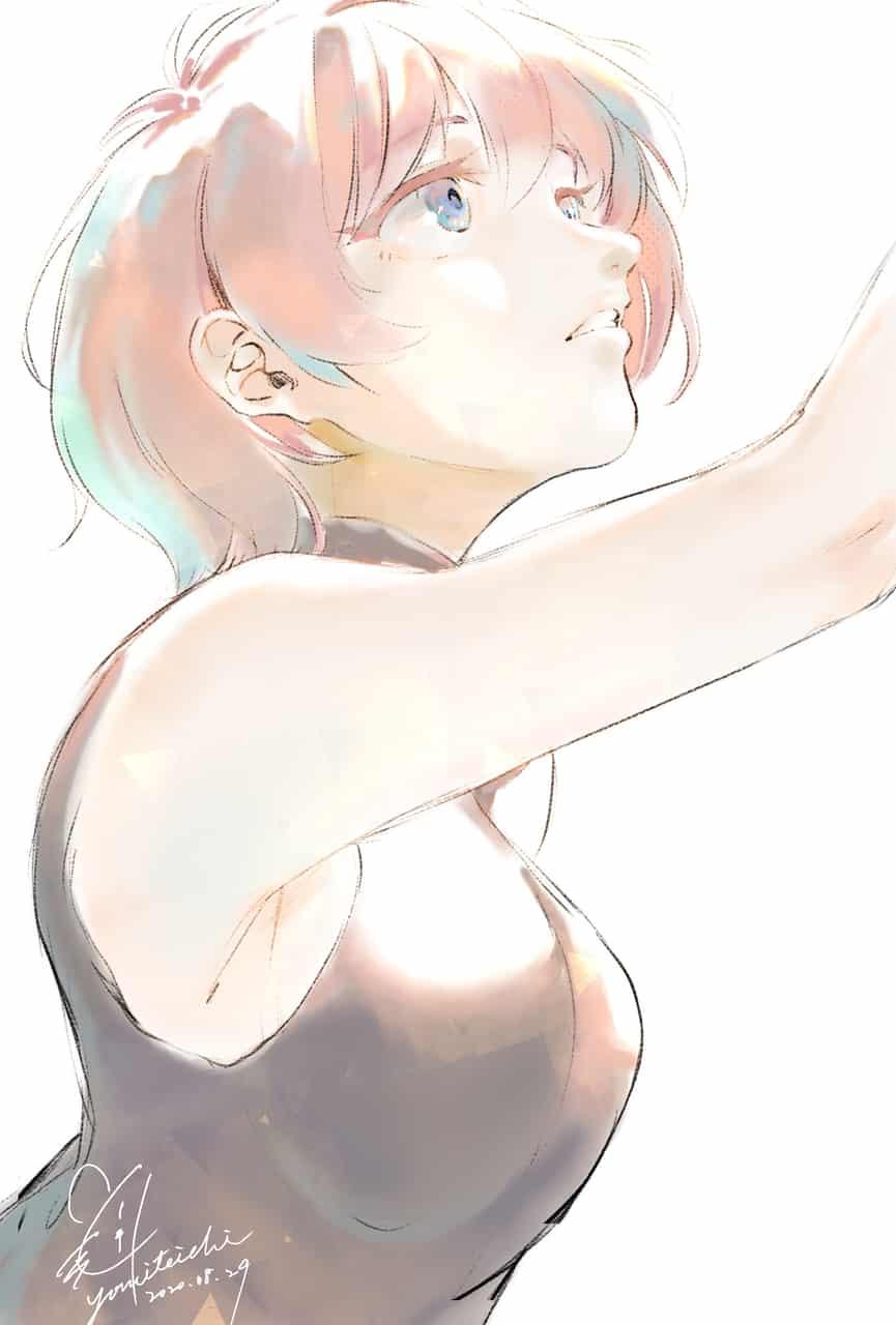 Illust of 陳田こころ illustration painting doodle girl oc
