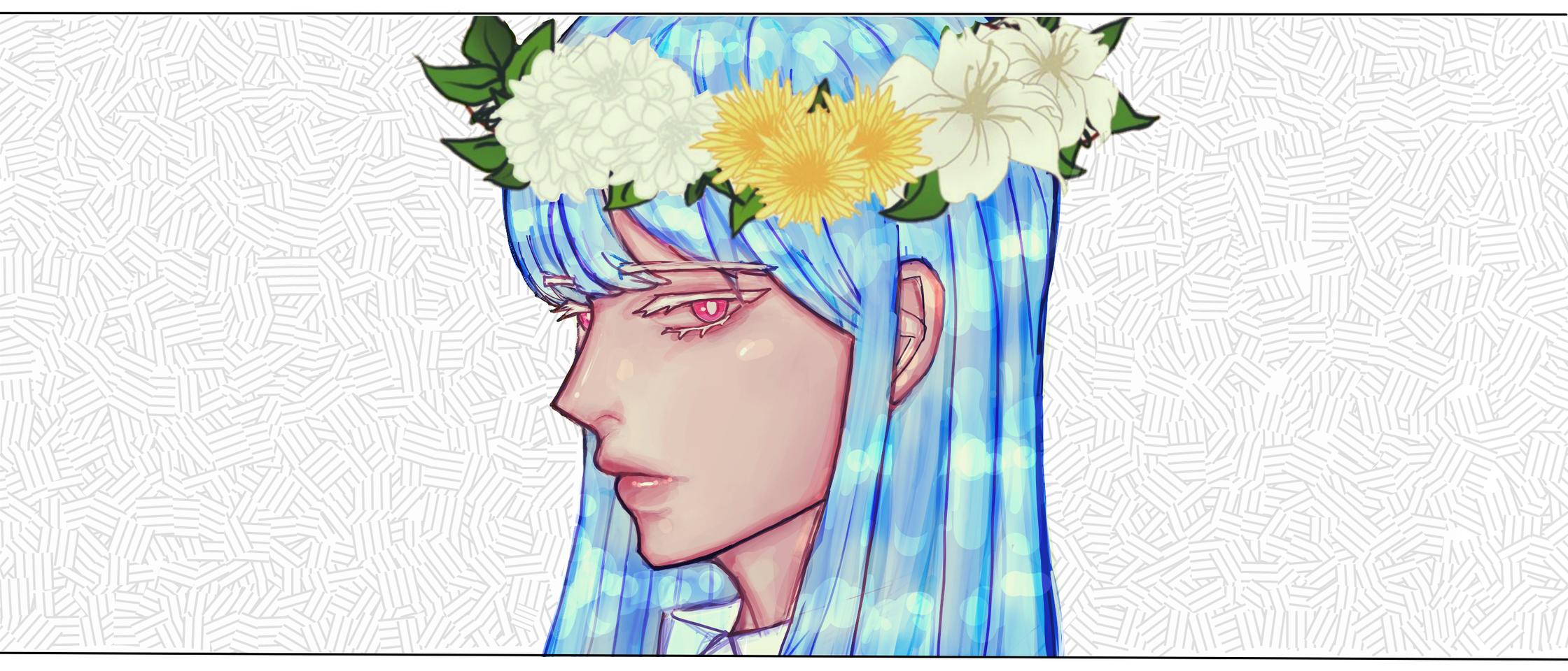 flower Illust of 곰딩 medibangpaint