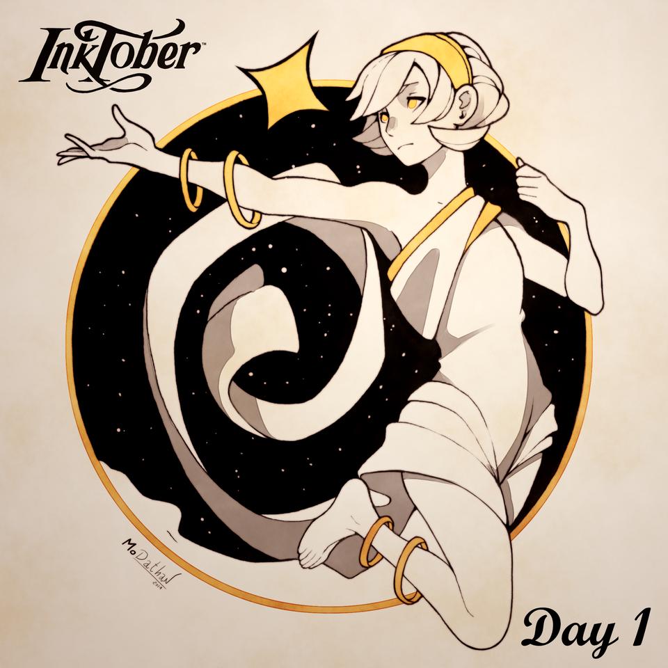 Inktober DAY 1: Ring