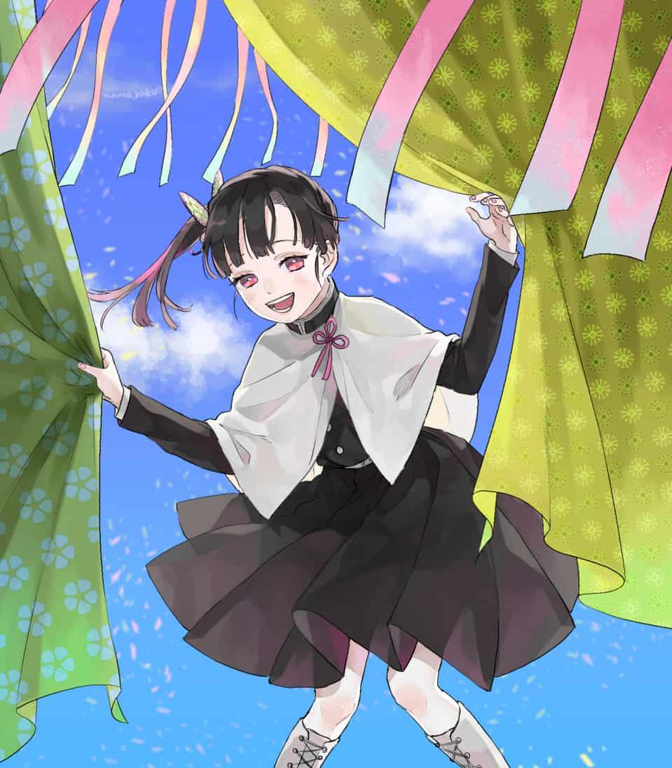 カナヲ Illust of mametubu DemonSlayerFanartContest KimetsunoYaiba TsuyuriKanao