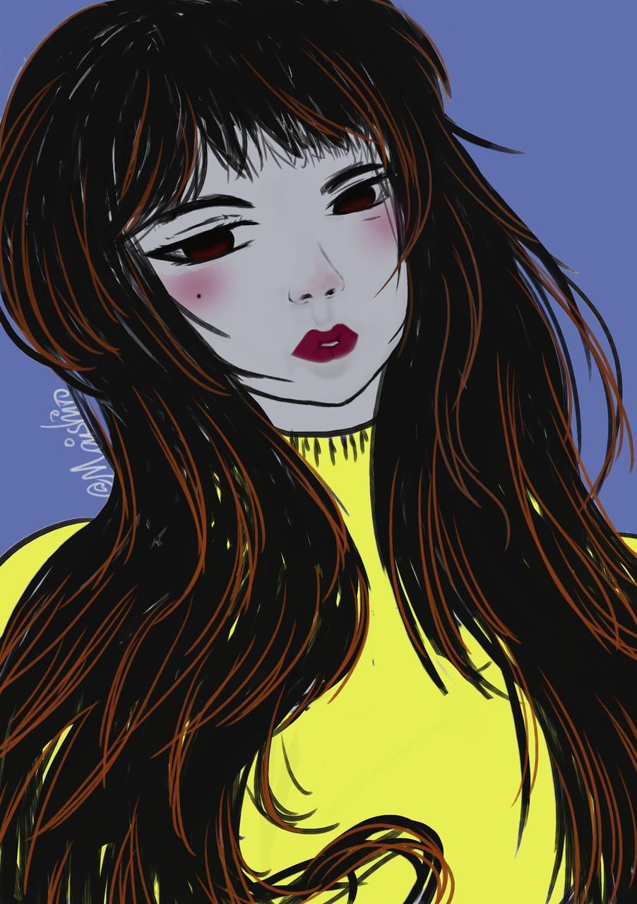 Part 3  Lazy Girl Illust of maishiro