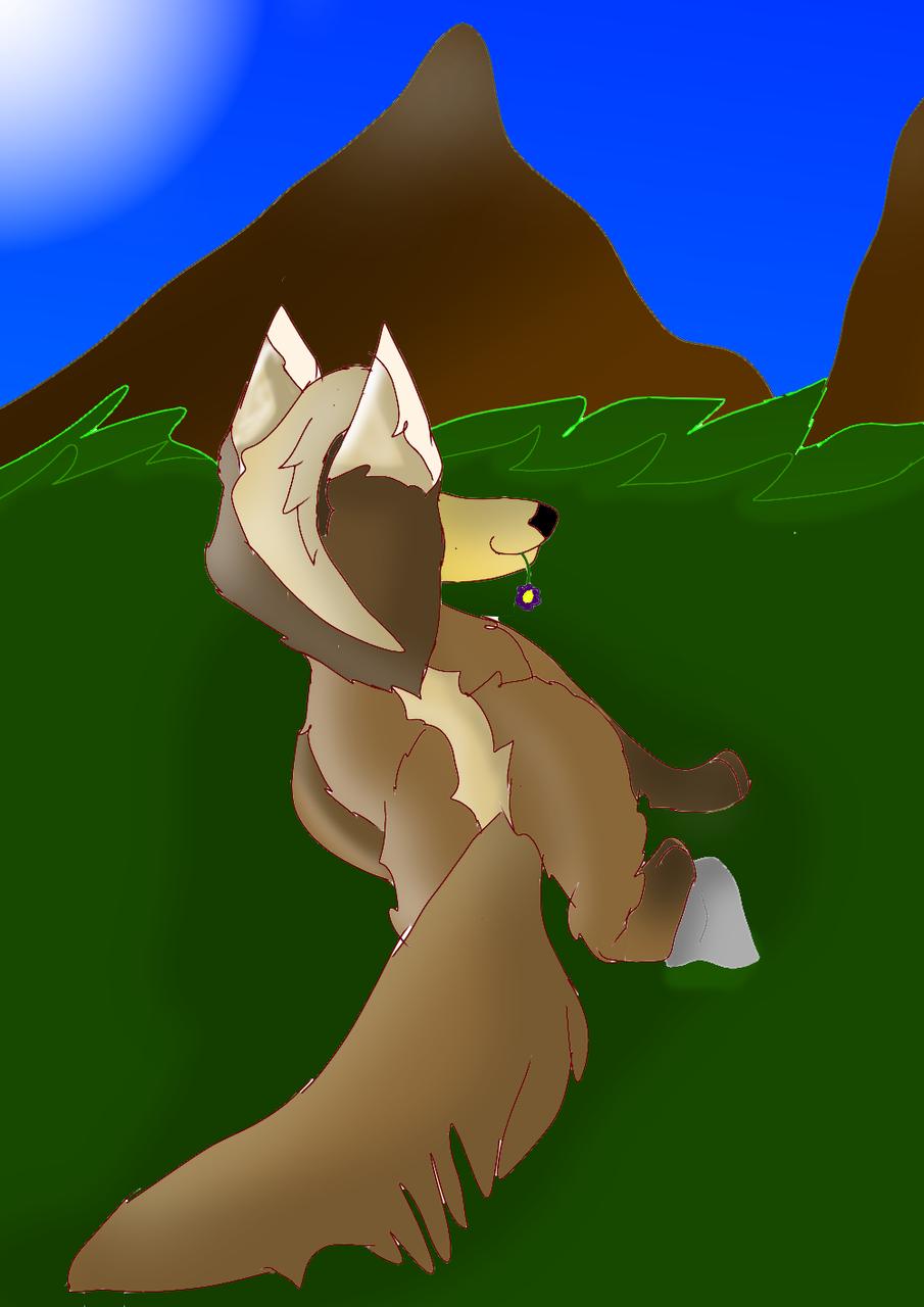 Wolf#36  Illust of 🦁 SunRay 🦁 medibangpaint