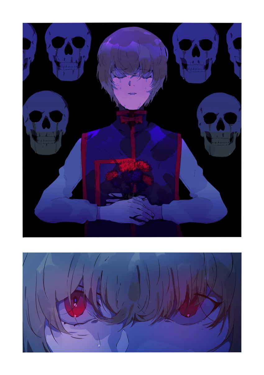Revenge Illust of naruysae anime fanart medibangpaint manga art HUNTER×HUNTER Kurapika