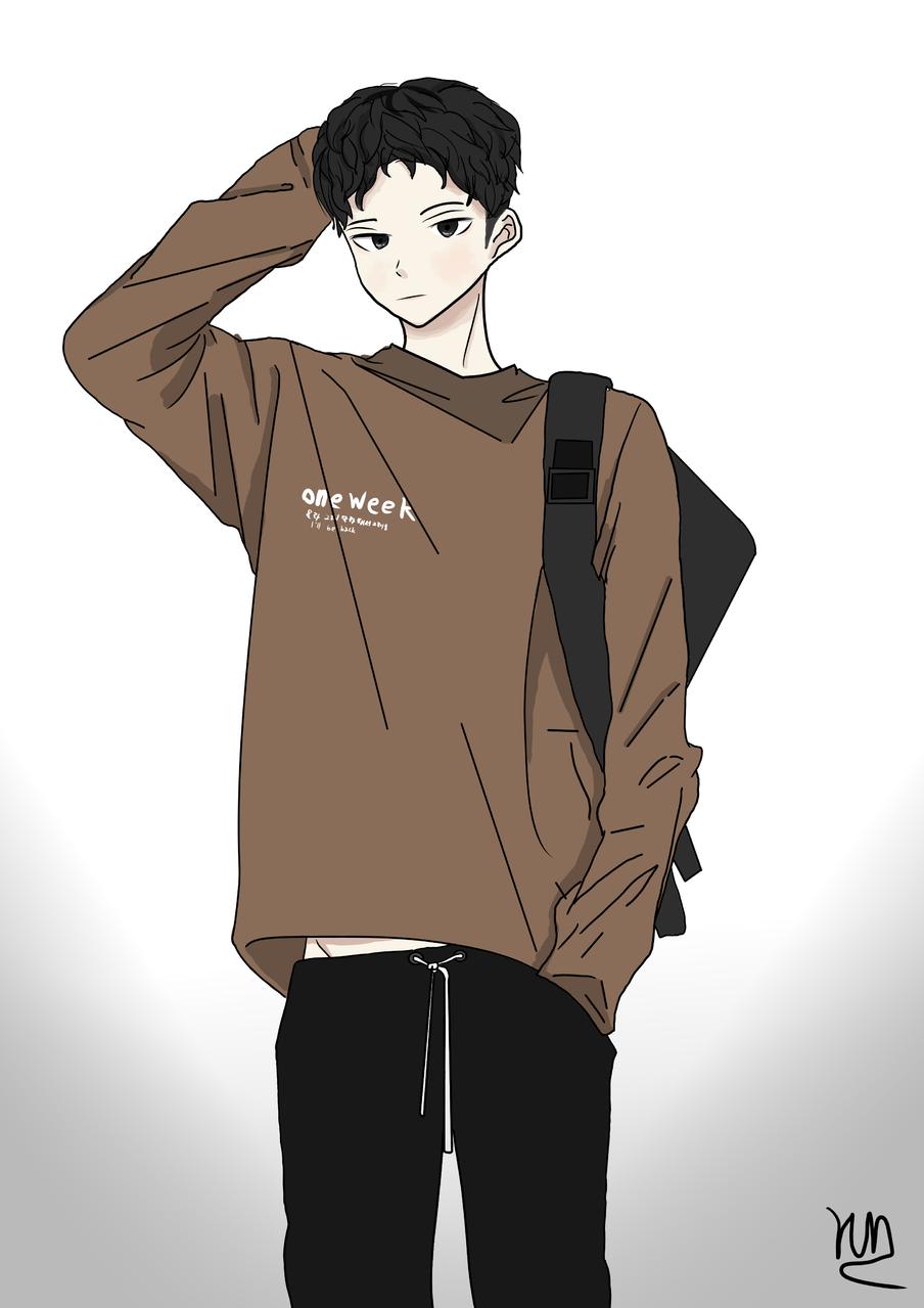 good boy Illust of YUN-C yun-c