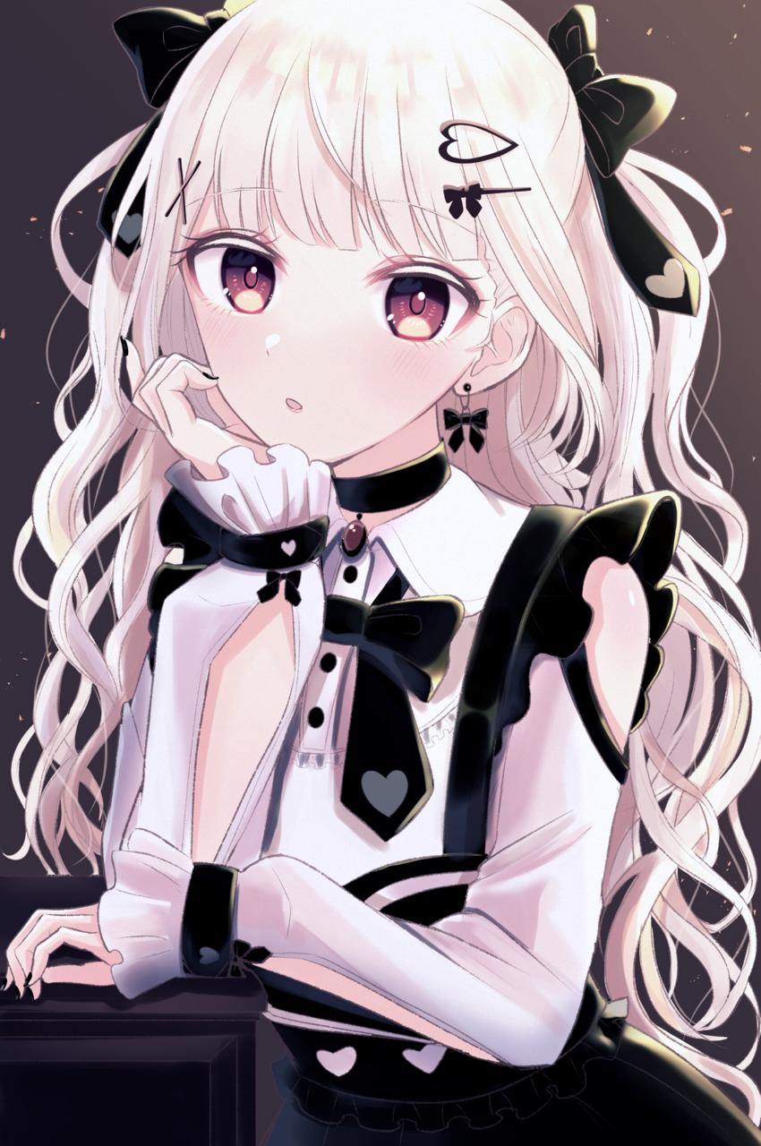 いつだって、かわいくいたい。 Illust of じゅにねう white_hair girl original