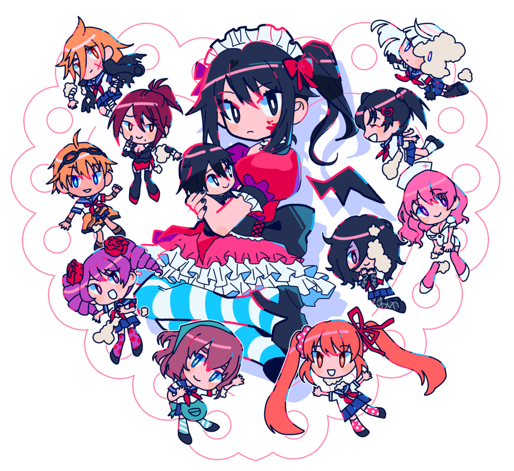 T0Y Illust of 5litre YandereSimulatorFanArtContest cute Yandere pop anime